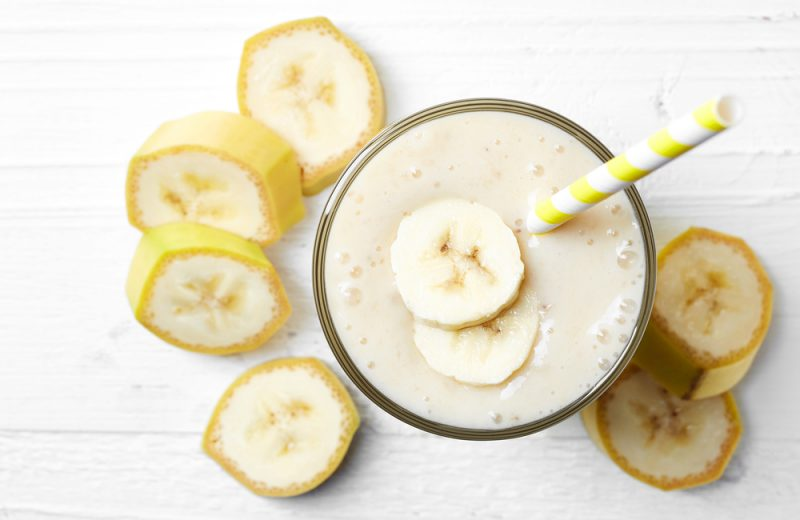 Banana Caramel Smoothie
