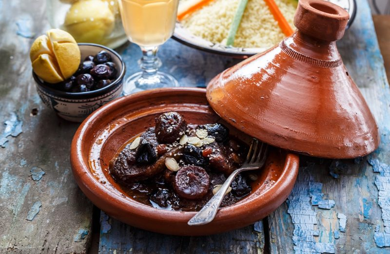 Lamb and Fresh Fig Tagine