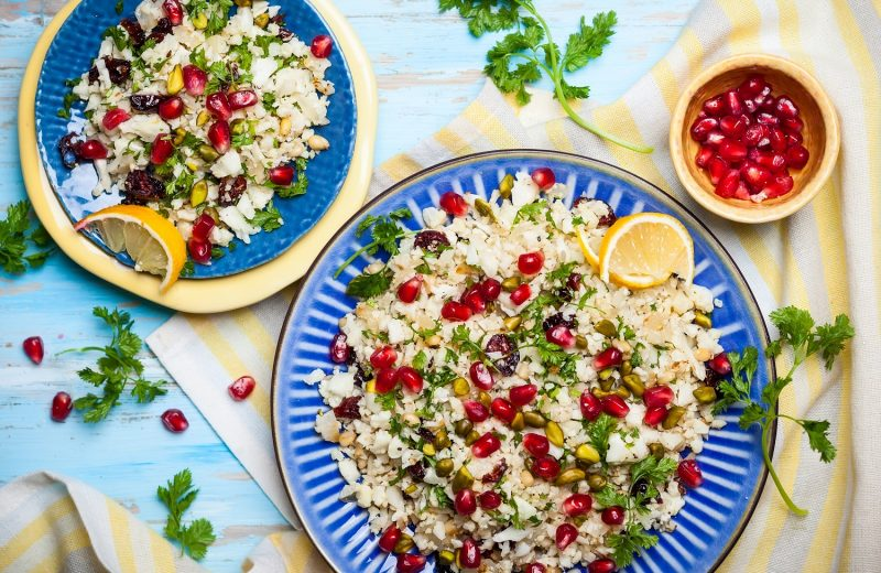 Cauliflower and Couscous Salad
